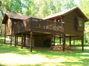 The Treehouse Dog Friendly Holiday Lodge, near Aviemore, Highlands of Scotland | Dogs allowed